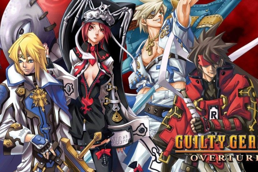 Guilty Gear 2: Overture - Wallpaper Gallery