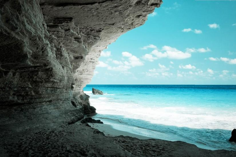 amazing-full-hd-wallpaper-cave-on-the-beach-