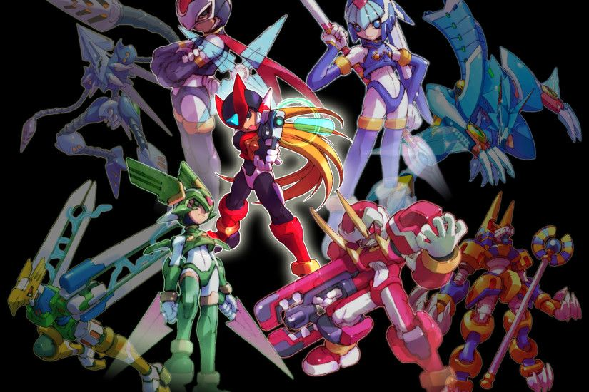 Megaman Zero Piece by bluesonic1 Megaman Zero Piece by bluesonic1