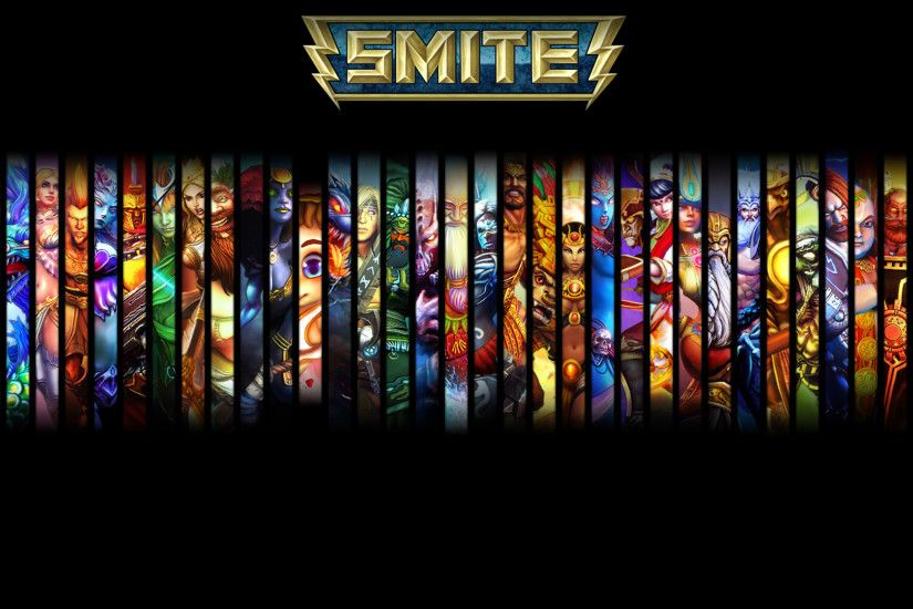 ... Smite Wallpaper - All 69 Gods by INIIZANE | Smite | Pinterest .