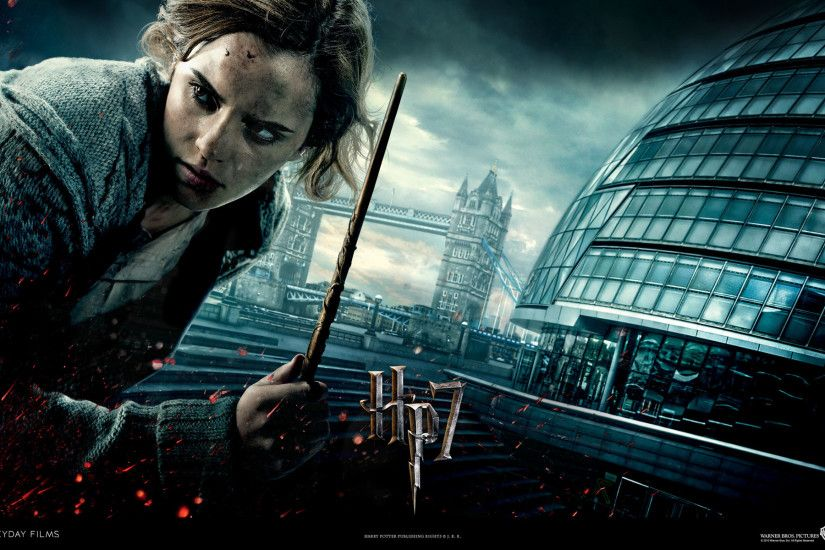 ... Hermione From Harry Potter And The Deathly Hallows Wallpaper - Click ...
