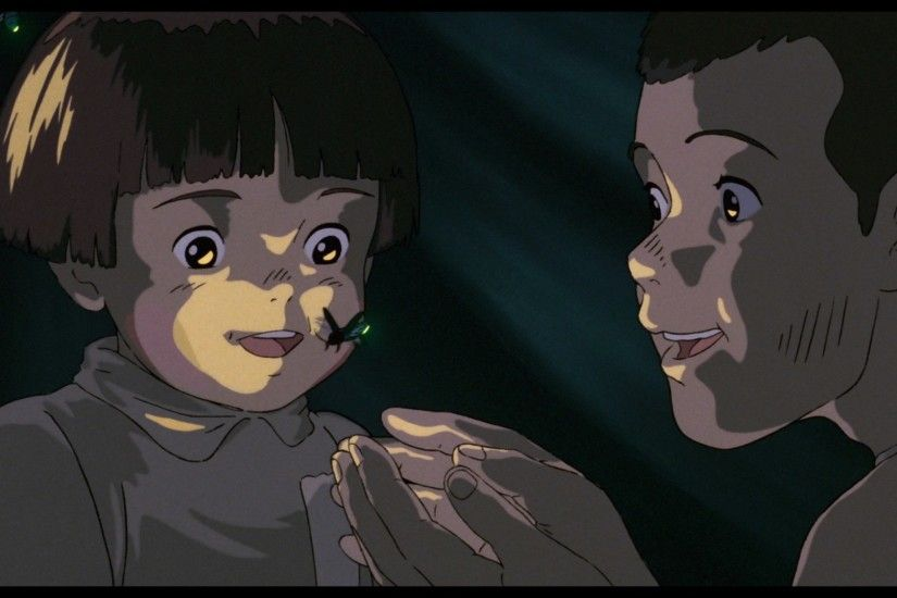 wallpapers free grave of the fireflies