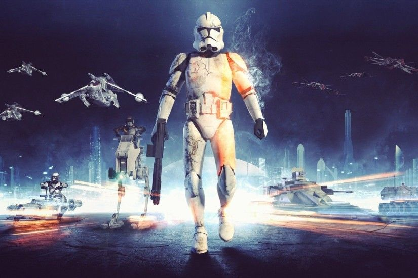 Star Wars, Clone Trooper, Battlefield Wallpapers HD / Desktop and Mobile  Backgrounds