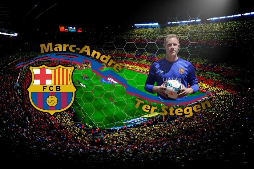 Ter Stegen FC Barcelona Wallpaper.