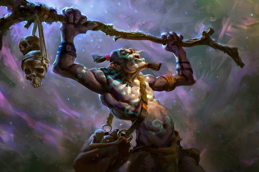 ... Dota2 : Witch Doctor Wallpaper