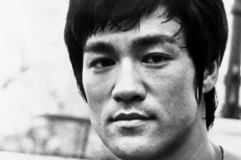 wallpaper.wiki-Bruce-Lee-monochrome-1920x1080-images-PIC-