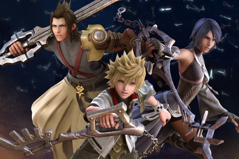 ... kingdom hearts ipad wallpaper wallpapersafari ...