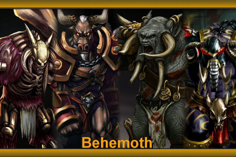 ... Heroes of Newerth Wallpaper Behemoth by Krayzieee