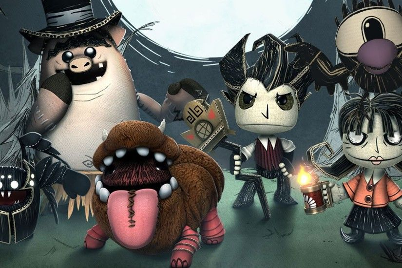 LittleBigPlanet 3 - Don't Starve Costume Pack Showcase - LBP3 PS4 - YouTube