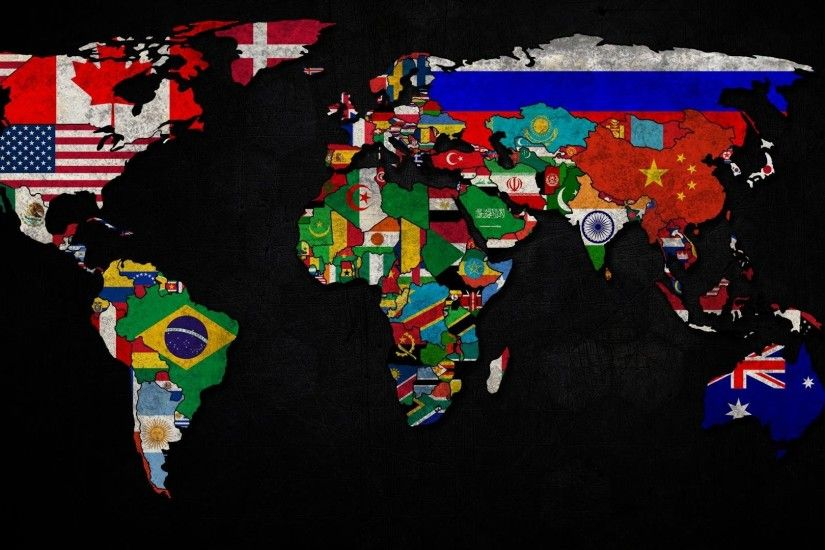 HD Wallpaper | Background ID:400645. 1920x1080 Misc World Map