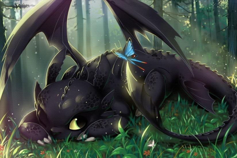 How To Train Your Dragon, Toothless Wallpaper HD