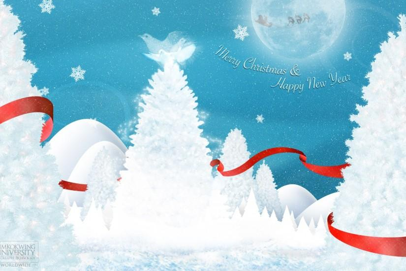 White Christmas Background Wallpaper