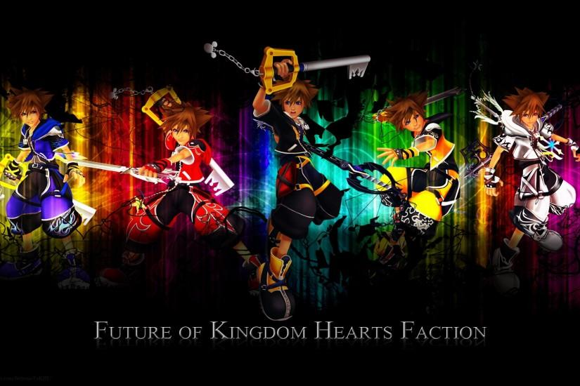 Kingdom Hearts Future Of Faction Game HD Wallpaper