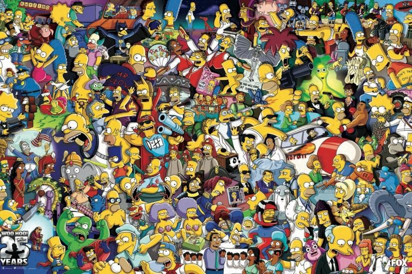 The Simpsons, Homer Simpson, Bart Simpson Wallpaper HD