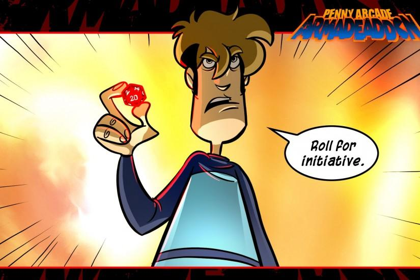 Penny Arcade D20 wallpaper 30720