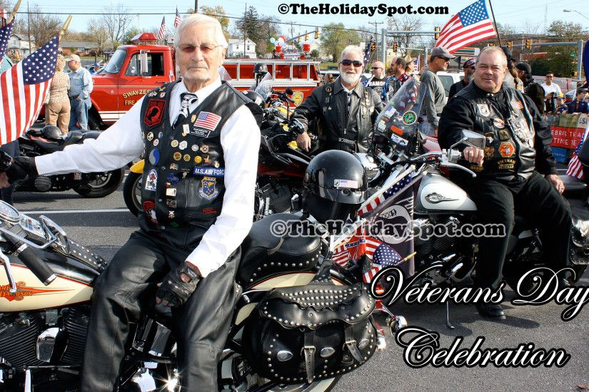 A Wonderful wallpaper on veterans day showcasing the veterans celebrating  the day.