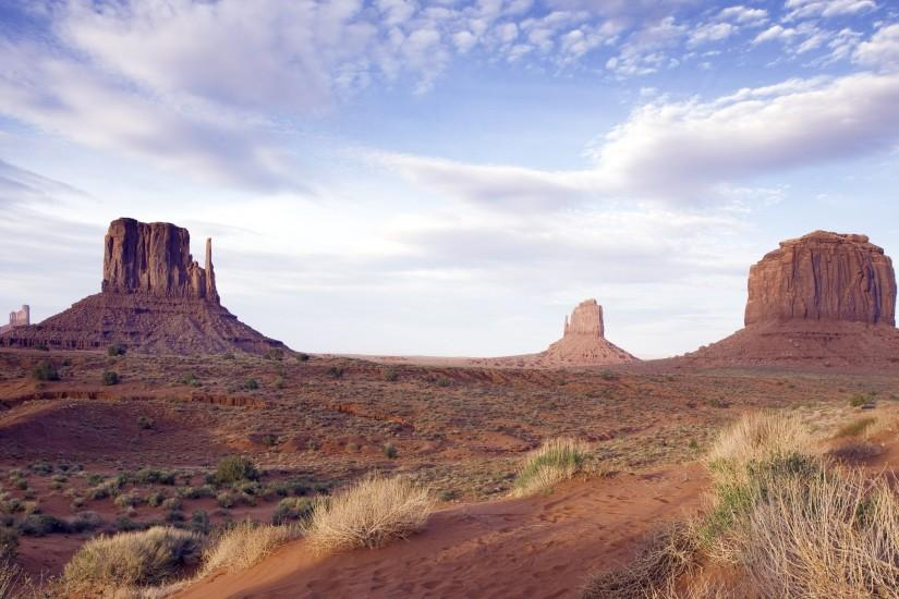 Wallpaper: Landscape from Monument Valley