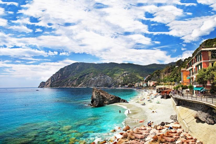 Riviera beach italy Wallpapers Pictures Photos Images. Â«