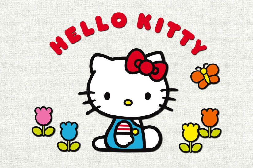... Attachment for Hello Kitty Hello Kitty Hello Kitty Wallpaper with Tulips