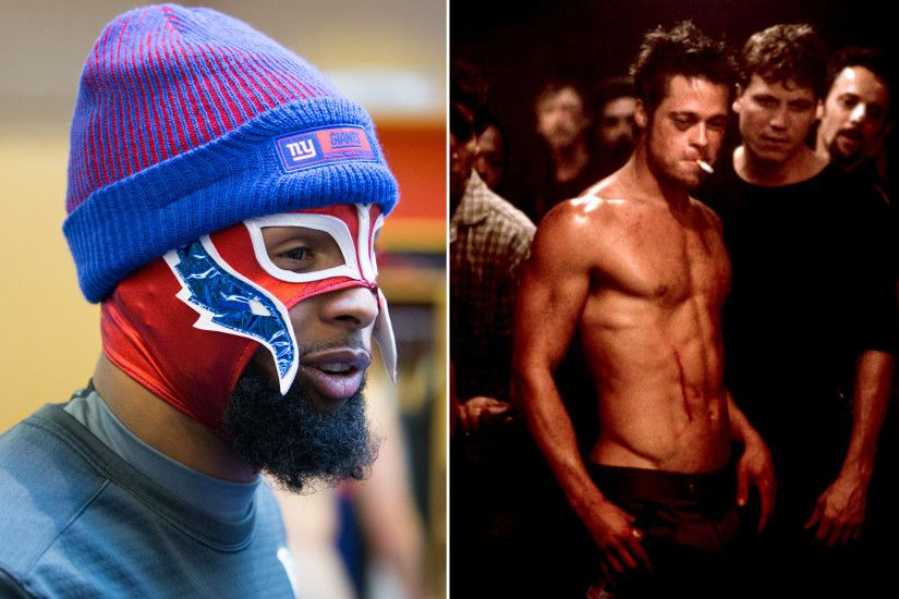 Odell Beckham Jr. channels Rey Mysterio after 'Fight Club' video | New York  Post