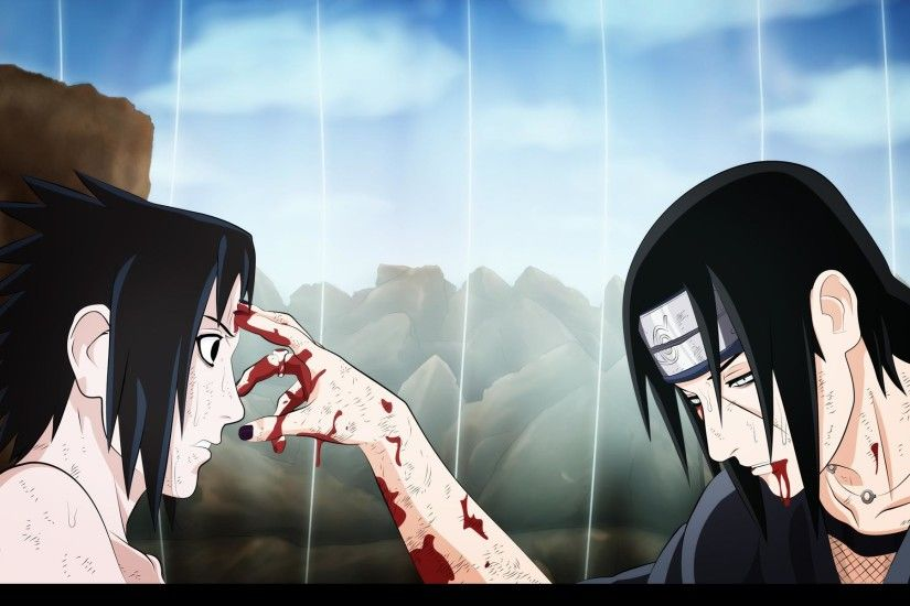 Uchiha Itachi And Sasuke Wallpaper 2014 HD