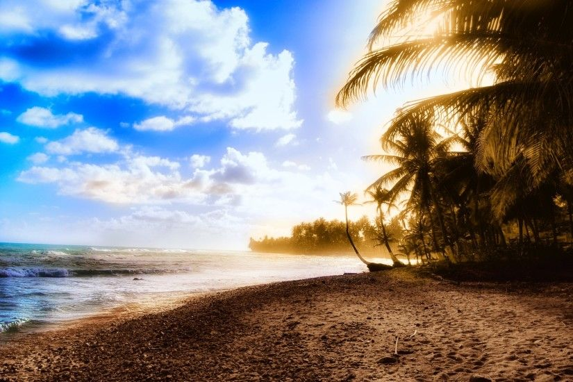 Stunning beach wallpaper