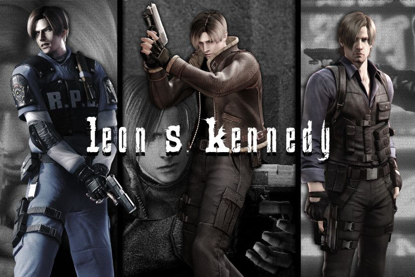 ... RE Anthology Wallpaper - Leon S. Kennedy by NicolasNSane