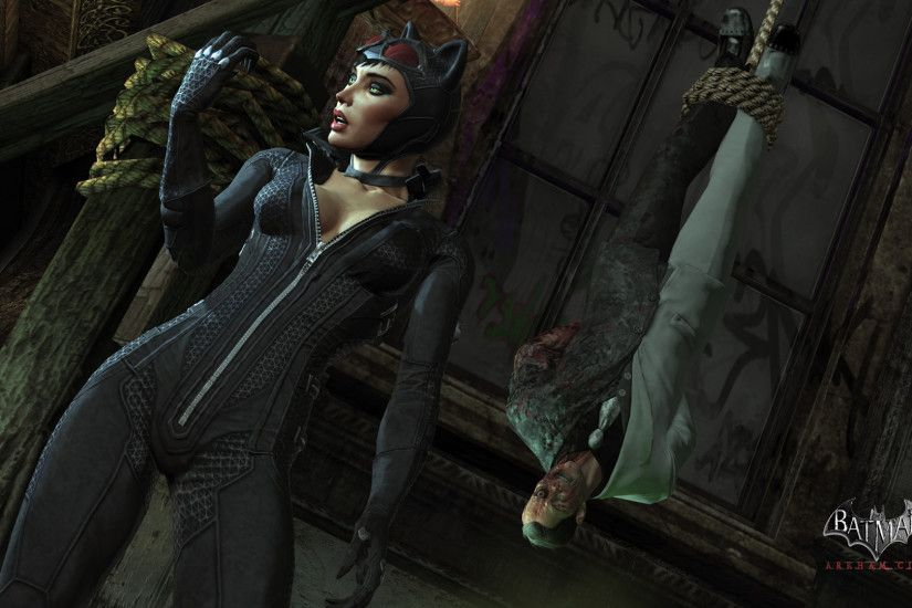 Batman Arkham City Catwoman 487077
