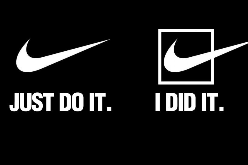 Nike Just Do It 2560x1600 Wallpaper Miscellaneous HD 1920x1080 · Download  1920x1080 1280x800 ...