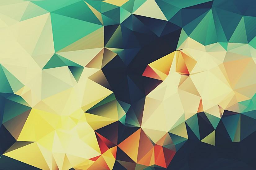 full size polygon background 3000x2000