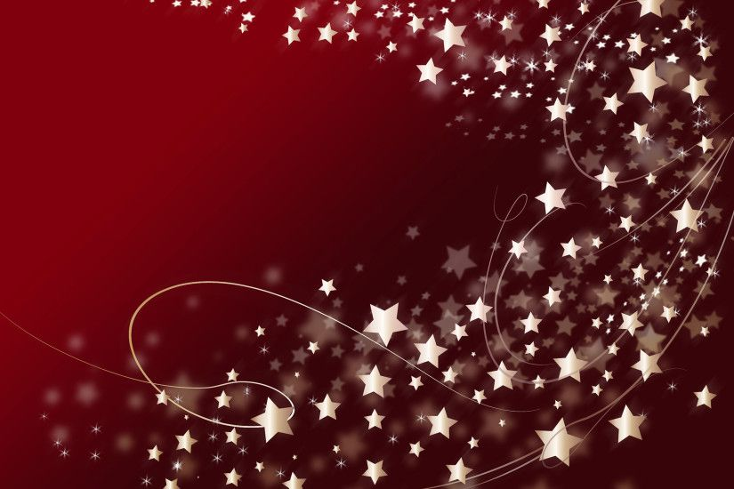 swirl of stars christmas wallpaper