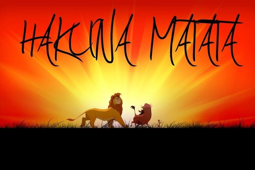 Wallpapers For > Hakuna Matata Infinity Wallpaper