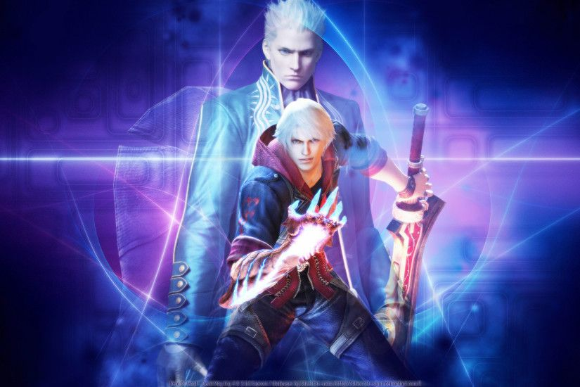 Devil May Cry Vergil and Nero