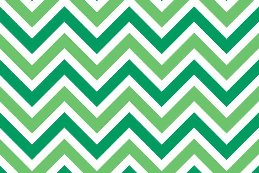 Zig Zags Chevrons Background Green