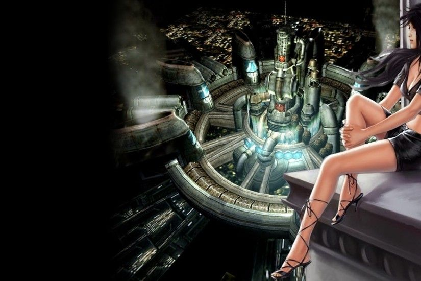 women final fantasy final fantasy vii video games tifa lockheart midgar Wallpaper  HD