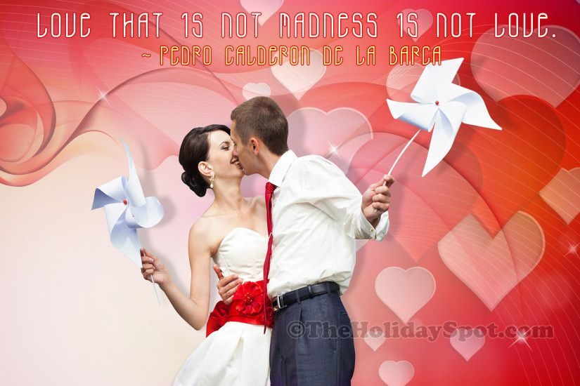 Valentine's Day Wallpaper of Love and Madness