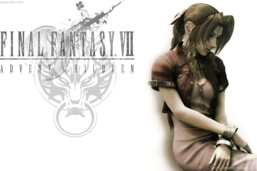 Wallpapers Final Fantasy Vii Advent Children Aerith Gainsborough D ..