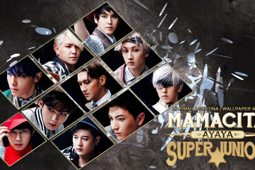 1920x1080 SUPER JUNIOR MAMACITA COMEBACK 7JIB WALLPAPER BY NAZIMAH