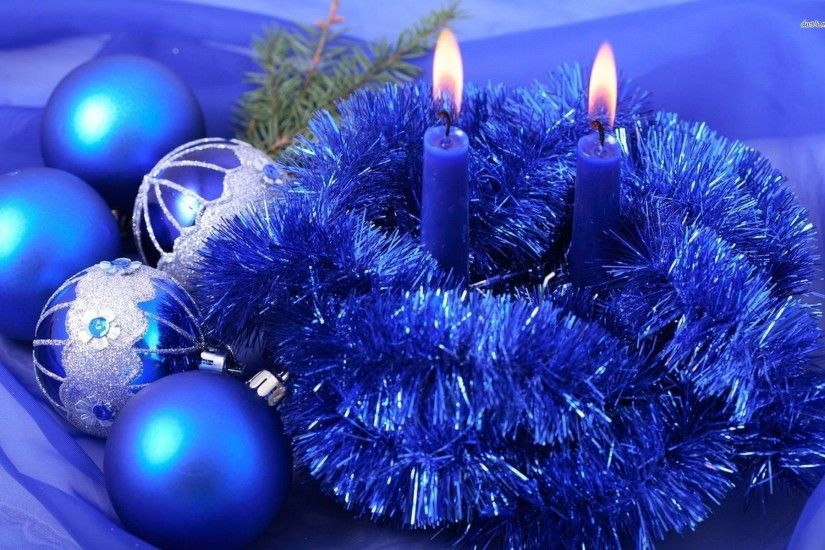 Blue Christmas Decorations 722743