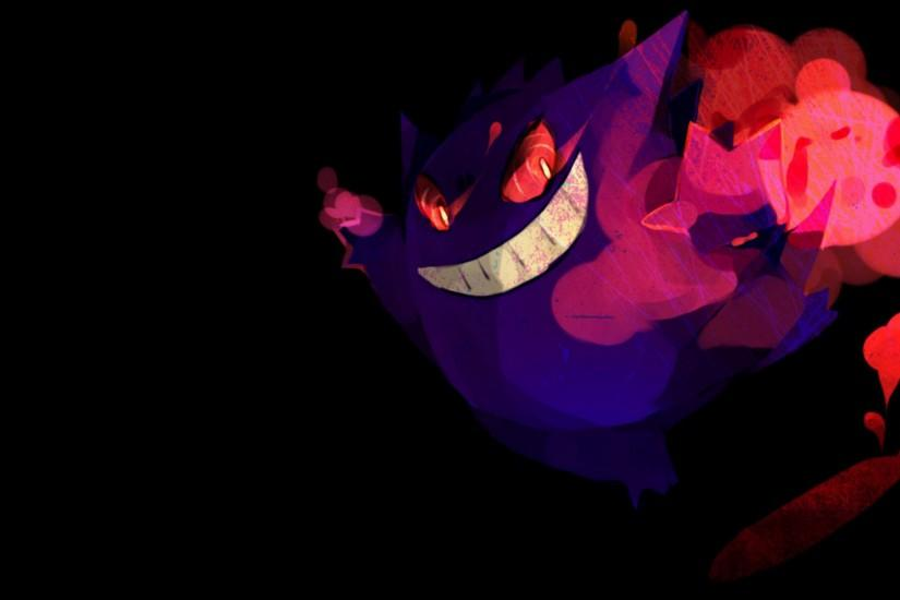 gengar wallpaper 1920x1080 4k