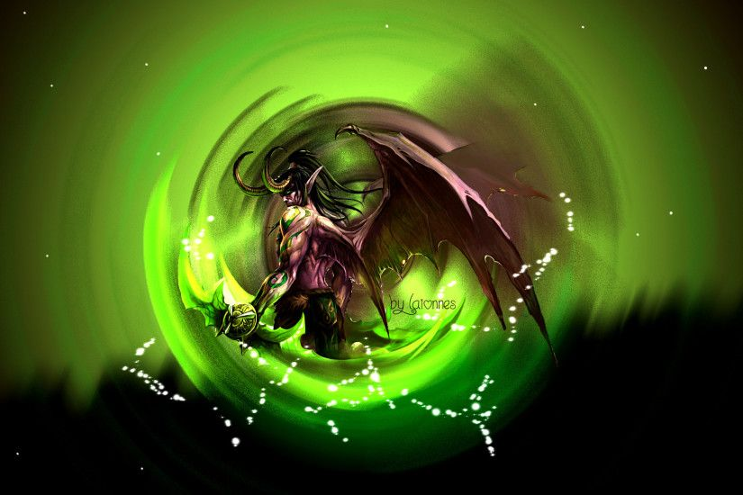 Illidan Stormrage Wallpaper by Laionnes Illidan Stormrage Wallpaper by  Laionnes