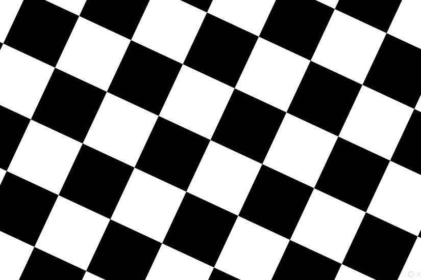 wallpaper black white checkered squares #000000 #ffffff diagonal 65° 220px
