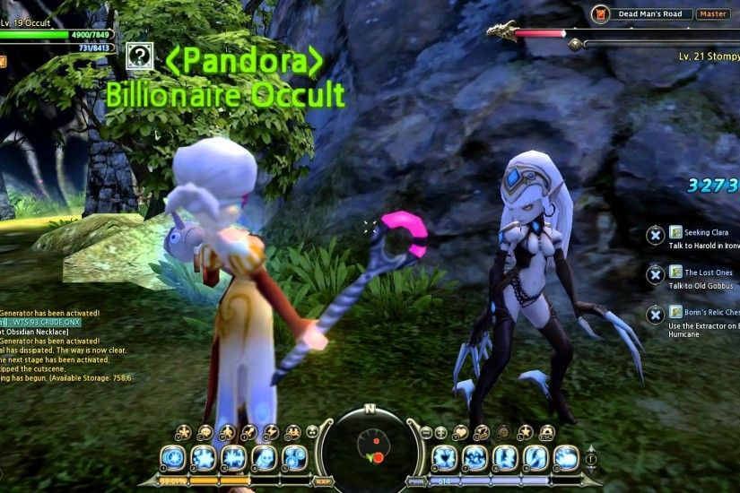 Dragon Nest: Dark Elf Dance