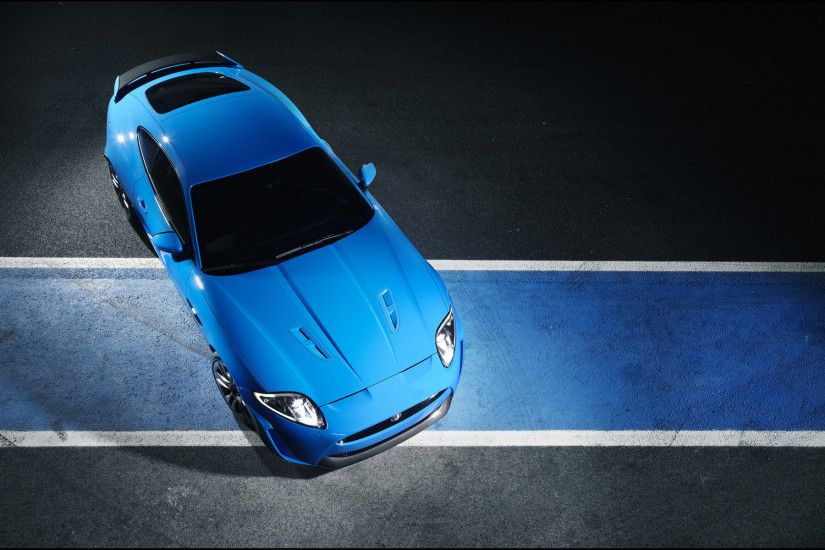 Blue Jaguar Car Wallpaper HD 8133