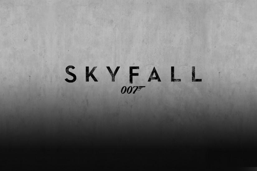 Source: SuperbWallpapers.com · Skyfall James Bond Wallpaper