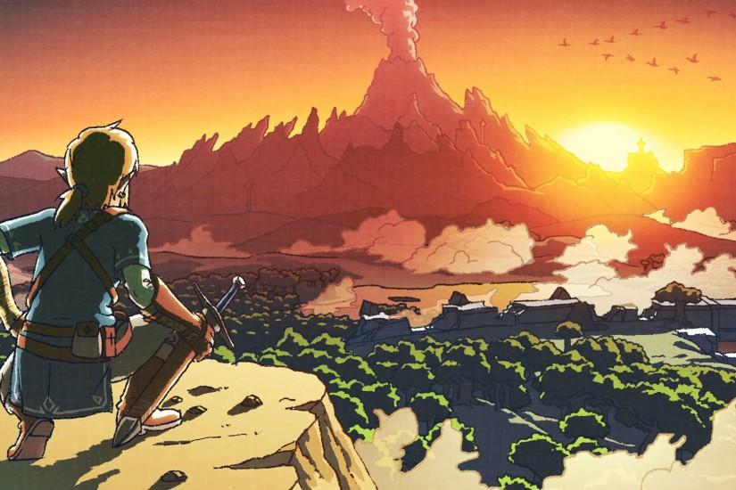 amazing zelda breath of the wild wallpaper 1920x1080