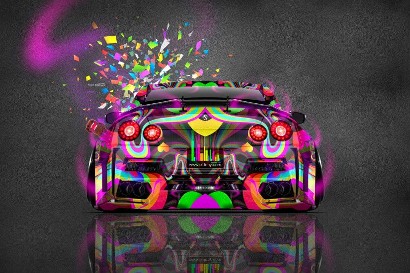 Nissan-GTR-R35-Kuhl-Tuning-Back-JDM-Style-
