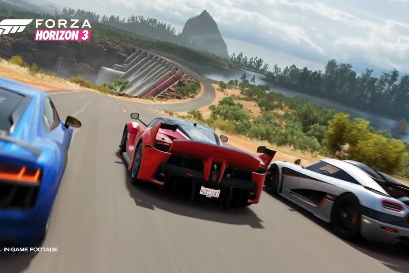 Forza Horizon 3 Gameplay (September 2016 Release Date)