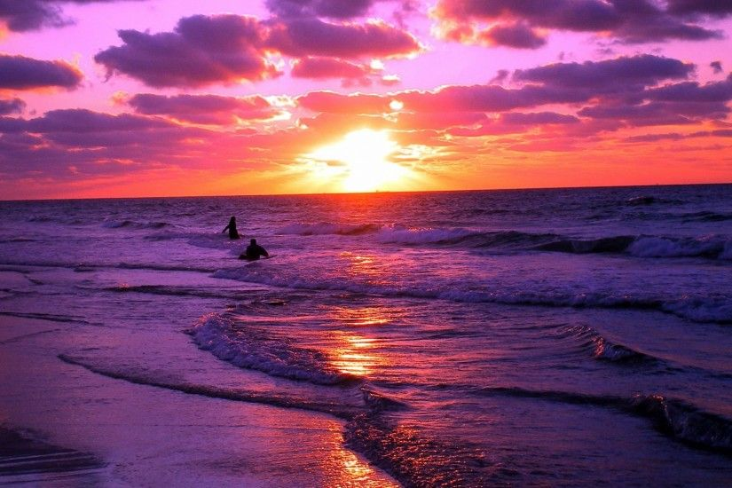 Sunset Beaches Wallpapers - Wallpaper Cave ...