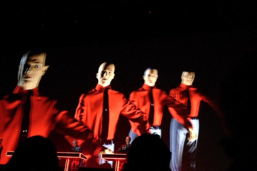 Kraftwerk Toronto Sony Centre The Robots